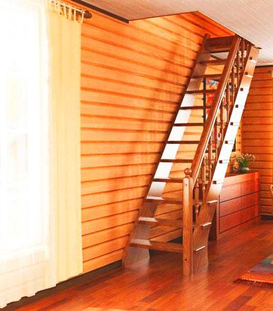 Лестницы в дачном доме